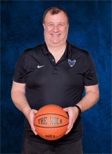 Ken Crosby Jamestown Jackals Basketball Coach