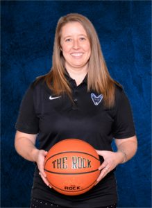 Kayla Crosby Jamestown Jackals Basketball Coach